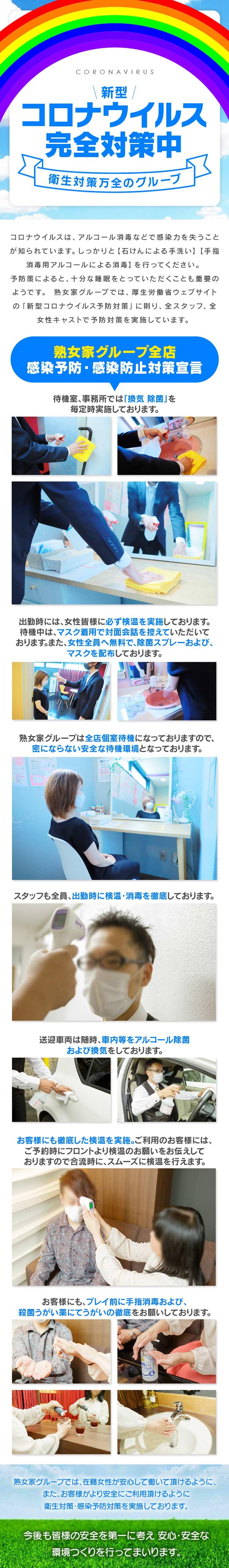 【風俗店】コロナ安全対策